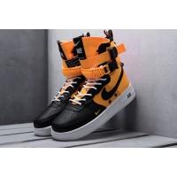 Nike Air Force black yellow