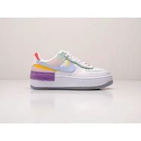 Кроссовки Nike Air Force 1 Shadow белые с разноцветными вставками