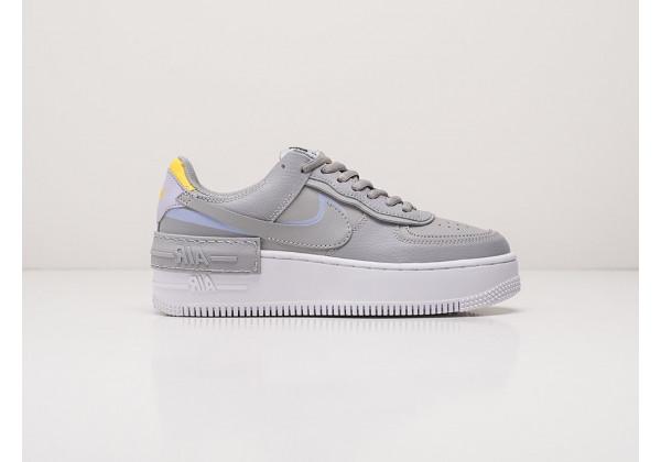 Кроссовки Nike Air Force 1 Shadow серые