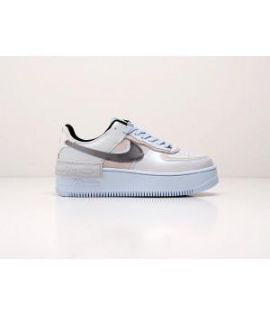 Кроссовки Nike Air Force 1 Shadow бежевые