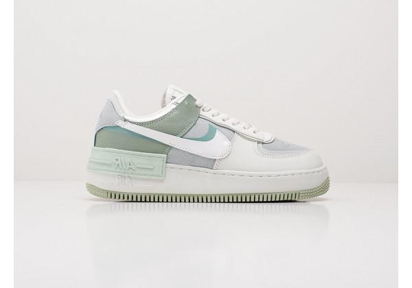 Кроссовки Nike Air Force 1 Shadow зеленые