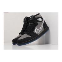 Nike Dior X Nike Air Jordan 1 черные