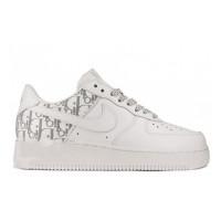 Кроссовки Nike X Dior Air Force 1 Low белые