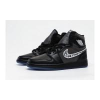 Nike Air Jordan High X Dior AJ1 черные