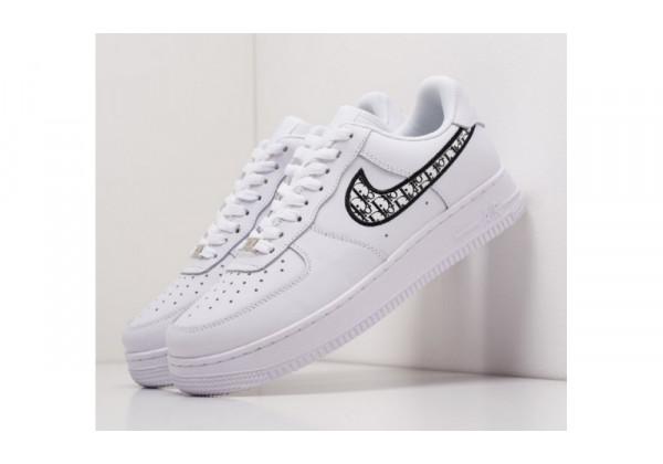 Кроссовки Nike X Dior Air Force 1 Low White белые