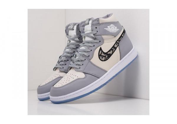 Nike Dior X Nike Air Jordan 1 Dark Grey