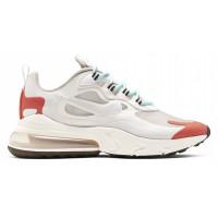 Кроссовки женские Nike Air Max 270 React Orange Platinum Tint