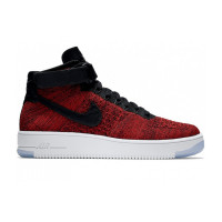 Nike Air Force 1 Ultra Flyknit Mid Red