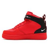 Nike Air Force 1 Utility Mid Red с мехом