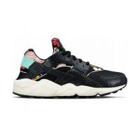 Кроссовки Nike Air Huarache Black Flower