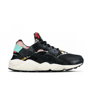 Кроссовки Nike Air Huarache Black Flower