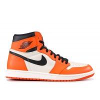 Nike кроссовки Air Jordan 1 Retro orange