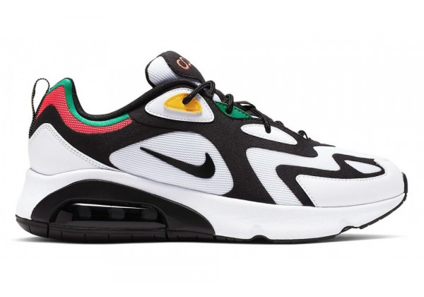 Кроссовки Nike Air Max 200 White Black