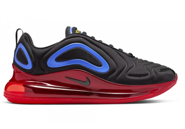 Кроссовки Nike Air Max 720 Primary Black Red