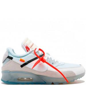 Кроссовки Nike Air Max 90 X Off White X ICE White/Beige