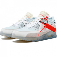 Кроссовки Nike Air Max 90 X Off White X ICE White/Beige