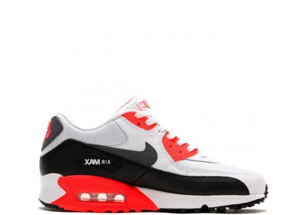 Nike кроссовки Air Max 90 Essential Grey/Black/Red