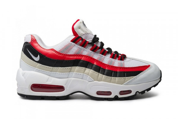 Кроссовки Nike Air Max 95 White Red