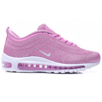 Кроссовки женские Nike Air Max 97 Swarovski Pink