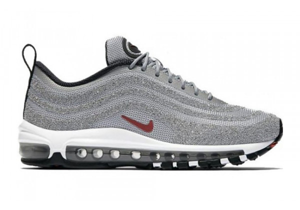 Кроссовки Nike Air Max 97 Swarovski Silver