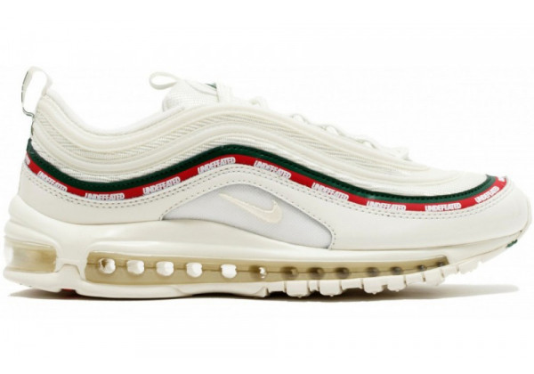 Кроссовки Nike Air Max 97 Undefeated White