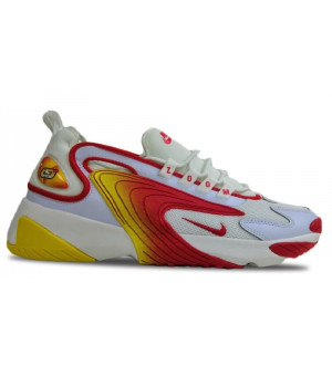 Кроссовки Nike Zoom White Red Yellow
