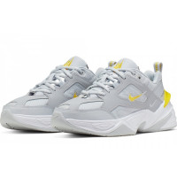 Кроссовки Nike M2K Tekno White Grey Yellow