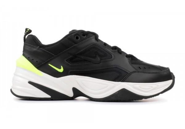 Кроссовки Nike M2K Tekno Black White Yellow