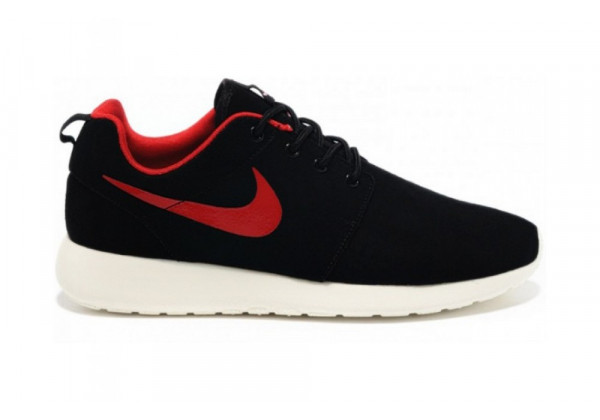 Кроссовки женские Nike Air Roshe Run Black Red White