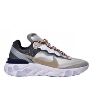 Кроссовки Nike React Element 87 White Cream Blue